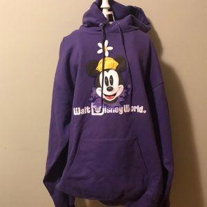 Walt Disney World Minnie Mouse hoodie NWT